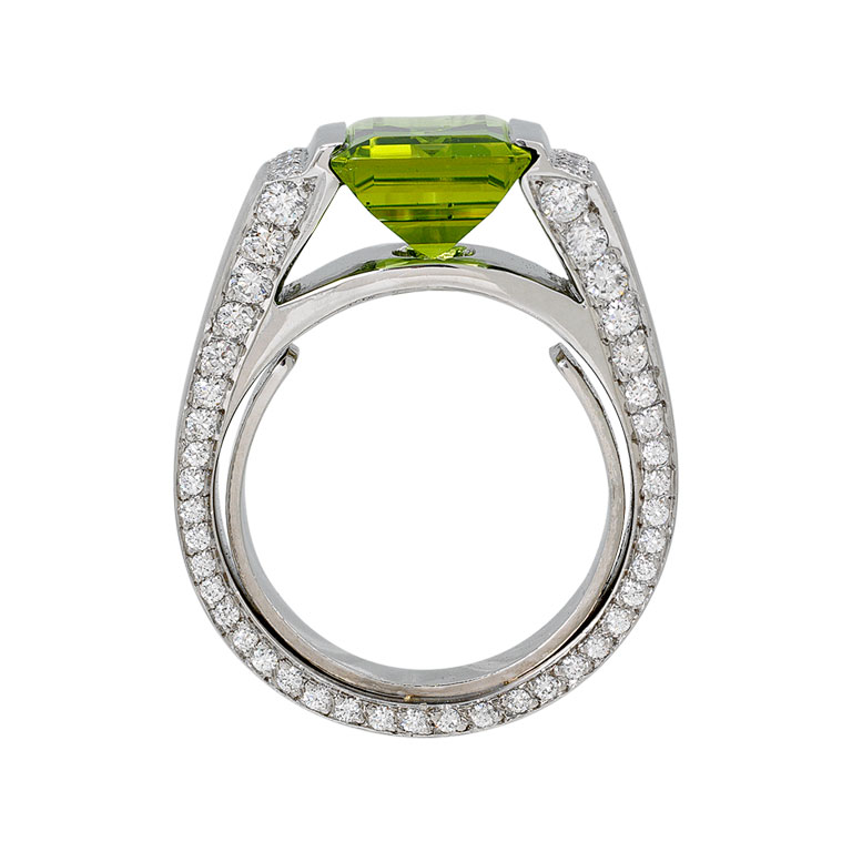 s 3 80 carat emerald and ring estatejeweler